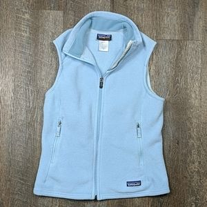 Patagonia Synchilla Light Blue Zip Up Vest
